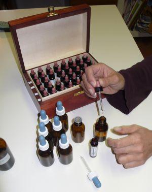 Preparazione ed assunzione dei rimedi floriterapici