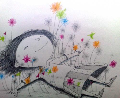 Bambini e fiori di Bach